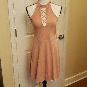 Light Pink Express Dress Size Small